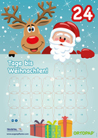 Motivationsposter Adventskalender