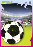 Motivationsposter Fußball Tina